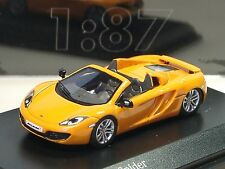Minichamps McLaren 12C Spider, orange - 877 133031 - 1/87 - lim.400