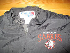 Vintage Chalk-Line BUFFALO SABRES Zippered (XL) Windbreaker Jacket