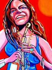 JANIS JOPLIN PRINT poster blues woodstock cheap thrills pearl cd monterey McGhee