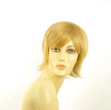 Perruque femme courte blond clair doré CAPUCINE LG26