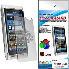 4 Pellicola Opaca Per Nokia N8 Antiriflesso Antimpronta Pellicola Salva Schermo