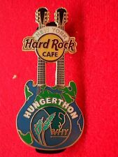 HRC hard rock cafe New York why hungerthon Double Neck Guitar 2005 le1500