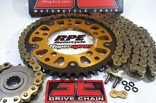Yamaha YZF R6 '06-16 SuperSprox 520 Gold JT Quick Accel chain and sprockets kit