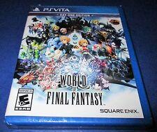 World of Final Fantasy Day One Edition Sony PlayStation Vita *Factory Sealed!