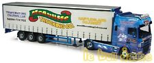 Camion  DAF XF95  Fridge Curtainside McAuliffe Trucking Co. CC13247 CORGI 1/50°