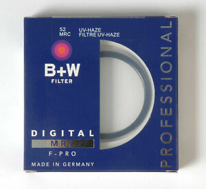 B+W 52mm Mrc UV Haze Protective Filter For Pentax Canon Nikon Sony Oly accessory