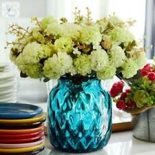 Silk Artificial Hydrangea Gerbera Flowers Decor Bouquet Home Wedding  Decor