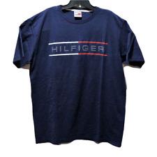 New Tommy Hilfiger Men's Blue XL Short Sleeve T-Shirt Big Spell Out