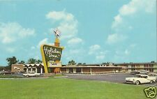 Original Vintage 1960s PC- Holiday Inn- Gary Indiana- Old Car- PM 1968