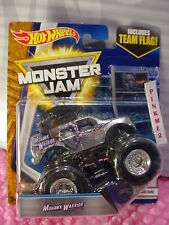 1992-2017 MONSTER JAM 25~2/7 Chrome MOHAWK WARRIOR☆Truck☆Team Flag☆Hot Wheels