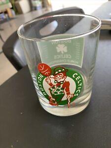 "VINTAGE ""RARE"" 1984 BOSTON CELTICS NBA WORLD CHAMPIONS DRINK GLASS"