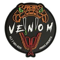 "RAN 816 SQN Flight 7 ""Venom"" MH-60R Aircrew PVC Patch - 95mm - New"