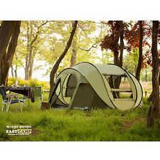 Outdoor Camping Hiking Travel Portable Easy Setup Automatic Family Screen Tents