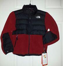 $129 NWT Boys The North Face Denali Down BIKING RED Polartec Fleece Jacket S