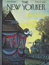 1962 Aurthur GETZ  ART COVER ONLY - Preparing Political Party Rally