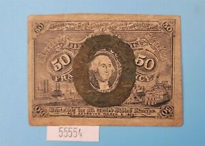 WPCoins ~ 1863 2nd Issue $0.50 Fractional Currency Note FR#1316