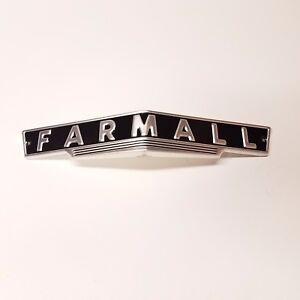 Farmall H M HV MV MD front grill emblem  FREE SHIPPING!