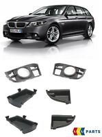 BMW GENUINE 5 SERIES F10 F11 LCI M SPORT FRONT BUMPER GRILL WITH PLATES PAIR SET