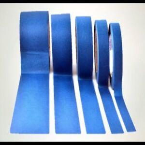 Nastro adesivo blu siliconico mascheratura in poliestere per alte temperature