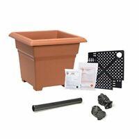 15.5-Inch Terra Cotta Tusco Products RR155TC Rolled Rim Garden Pot