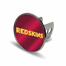 NFL Washington Redskins Laser Cut Metal Hitch Cover, Large, Silver