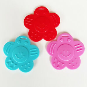 Smiley Face Ribbon Attached Teether  EN71-3 Certified