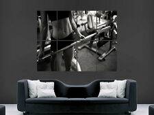 WOMEN HOT SEXY GIRM FITNESS  WEIGHTS  ART WALL LARGE IMAGE GIANT POSTER