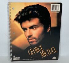 Vintage George Michael 1991 Winterland Productions Spiral Notebook Rare 50 pages