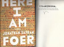 HERE I AM - JONATHAN SAFRAN FOER - SIGNED 1ST/1ST - SLIPCASED