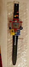 Rare1994 Mighty Morph Power Rangers Megazord Promo Watch & Game need battery New