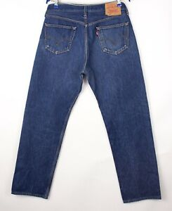 Levi's Strauss & Co Hommes 501 Jeans Jambe Droite Taille W36 L32 BDZ105