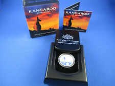 2012 Australia Kangaroo at Sunset $1 Silver Proof Coin - RAM - MAGNIFICENT!!