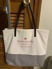Kate Spade New York Signature Basin View Bon Shopper Natural/Stripe $198
