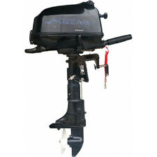 A0309 Ozeam Outboard Engine 6HP 4 Stroke Boat Fishing Sea Lake Trolling Tender