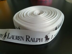 ❤ 100cm White PIECE AUTHENTIC Ralph Lauren designer RIBBON wrap crafts  ❤