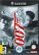 007 EVERYTHING OR NOTHING - NINTENDO GAMECUBE PIU' CHE BUONE CONDIZIONI ITALIANO