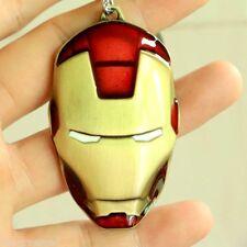 Iron Man Keychain Marvel The Avengers Mask Metal Keyring Movies Pendant Gift New