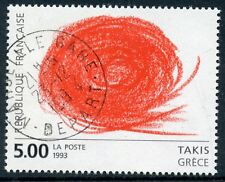 STAMP / TIMBRE FRANCE OBLITERE N° 2834 TABLEAU ART /  TAKIS