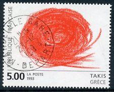 STAMP / TIMBRE FRANCE OBLITERE N° 2834 TABLEAU ART /  TAKIS