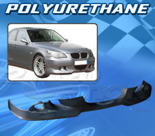 FOR BMW E60 5 SERIES 04-07 525 530 535 T-A FRONT BUMPER LIP BODYKIT POLYURETHANE