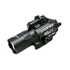X400 Ultra Light Red Laser LED Tactical X400U Weapon Light Flashlight