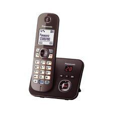 Panasonic kx-tg6821ga DECT Telefono senza fili + AB Vivavoce Moca-Marrone