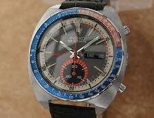 Seiko Speed Timer Rare 41mm Jumbo Made in Japan 1970 Chronograph Watch YY59