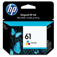 HP 61 Original Ink Cartridge, Tri-color (CH562WN)