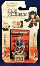 Transformers 30 Optimus Prime Version Figurine & 3D Puzzle Piece Card 2014