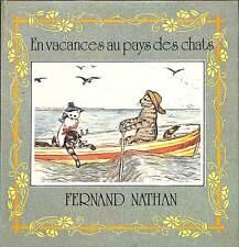 """LIVRE POUR ENFANTS ENFANTINA """" EN VACANCES AU PAYS DES CHATS """" ALICE GOYDER 1980"""