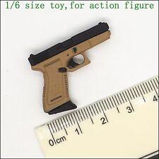 L16-50 1/6 scale action figure - ZCWO CLOCK  Plastic pistols