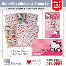 Hello Kitty Fun Stickers Children Birthday Party Loot Bag Fillers Decorating
