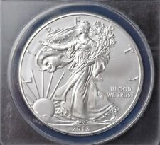 2012-S MS70 AMERICAN SILVER EAGLE~BU~$1 SILVER DOLLAR~INVEST TODAY~