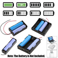 1/2/3/4 Slots DIY Storage Box Clip Holder Case for 18650 Rechargeable Battery